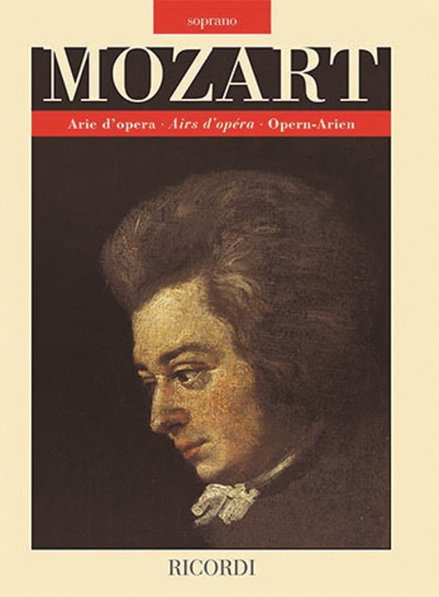 Arie d'opera. Soprano - MOZART - Partition - Opéras - laflutedepan.com