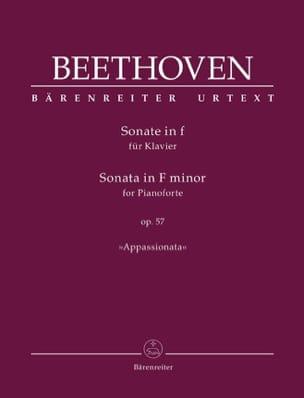 Sonate Pour Piano n° 23 Fa mineur Opus 57 BEETHOVEN laflutedepan