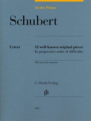 Schubert, At The Piano SCHUBERT Partition Piano - laflutedepan