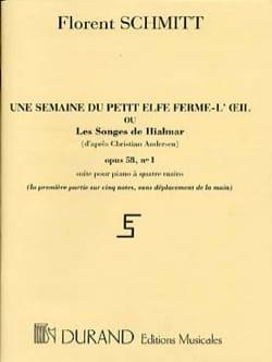 1 Semaine Du Petit Elfe Ferme-L'oeil Opus 58 n°1 laflutedepan