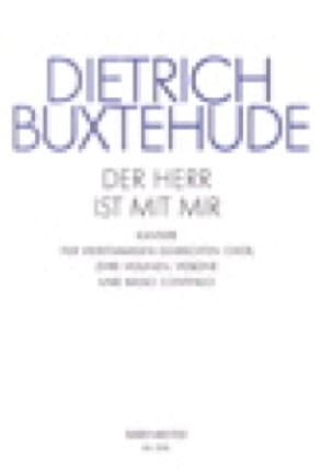 Der Herr Ist Mit Mir Buxwv 15. Partie de Choeur - laflutedepan.com
