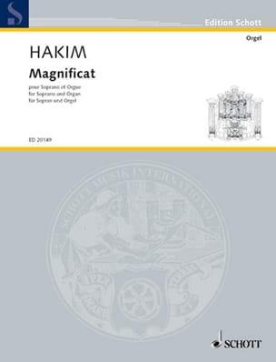 Magnificat Naji Hakim Partition Mélodies - laflutedepan