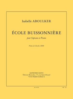 Isabelle Aboulker - School Buissonnière - Partition - di-arezzo.com