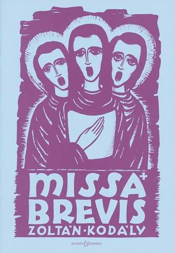 Missa Brevis - KODALY - Partition - Chœur - laflutedepan.com