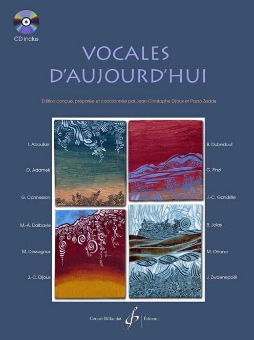Vocales D'aujourd'hui - Partition - Pédagogie - laflutedepan.com