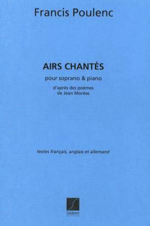 Francis Poulenc - 4 Sung tunes - Partition - di-arezzo.co.uk