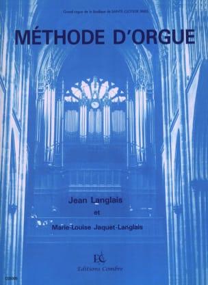 Méthode D'orgue Langlais Jean / Langlais-Jaquet Partition laflutedepan