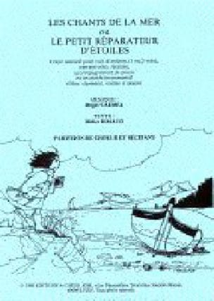 Les Chants de la Mer. Conducteur - Roger Calmel - laflutedepan.com