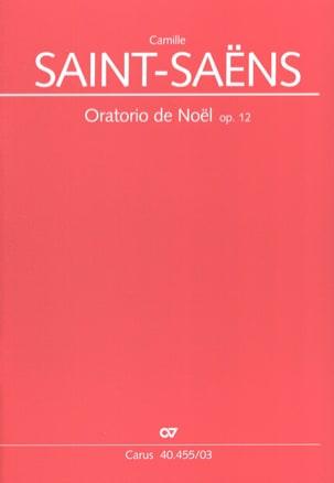 Oratorio de Noël Opus 12 SAINT-SAËNS Partition Chœur - laflutedepan