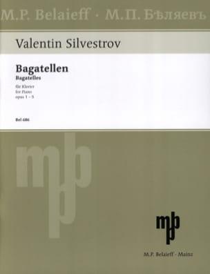 Bagatellen Valentin Silvestrov Partition Piano - laflutedepan
