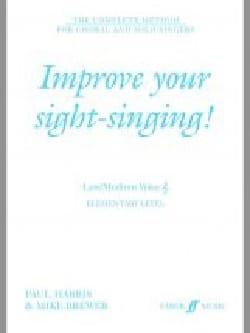 Improve your sight-singing - Voix haute / voix moyenne laflutedepan