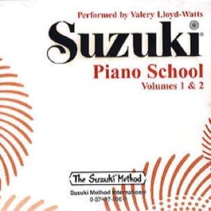 Méthode de Piano Volume 1 et 2. CD - SUZUKI - laflutedepan.com
