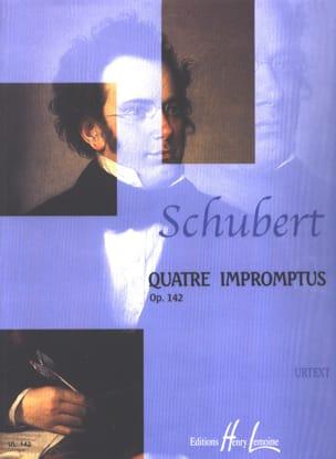 4 Impromptus Opus 142 D 935 SCHUBERT Partition Piano - laflutedepan