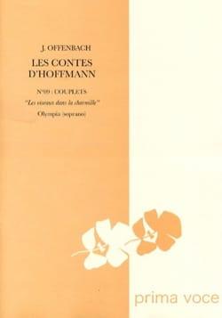 Les Oiseaux Dans la Charmille. Les Contes d'Hoffmann laflutedepan