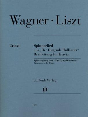 Spinnerlied. Wagner Richard / Liszt Franz Partition laflutedepan