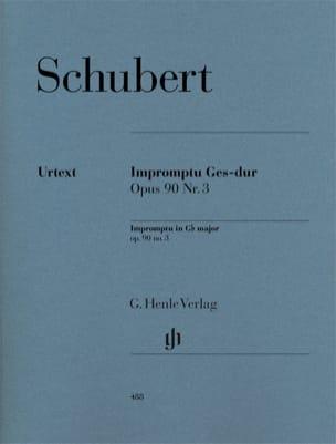 Impromptu en Sol Bémol Majeur Opus 90-3 D 899 SCHUBERT laflutedepan