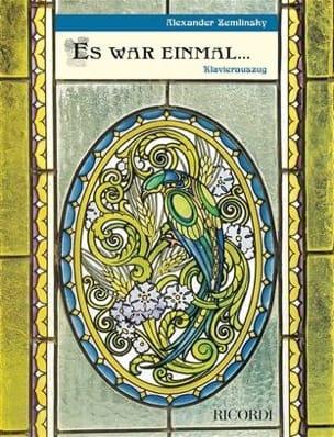 Es War Einmal - ZEMLINSKY - Partition - Opéras - laflutedepan.com