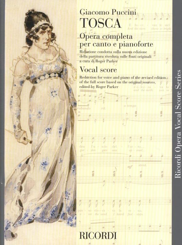 Tosca - PUCCINI - Partition - Opéras - laflutedepan.com