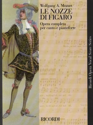 MOZART - El Nozze Di Figaro K 492 - Partition - di-arezzo.es