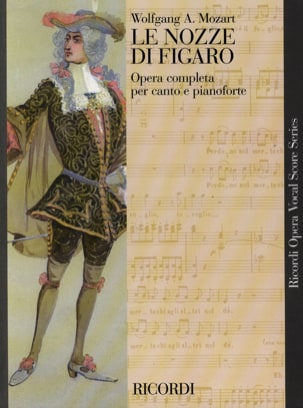 Le Nozze Di Figaro K 492 MOZART Partition Opéras - laflutedepan