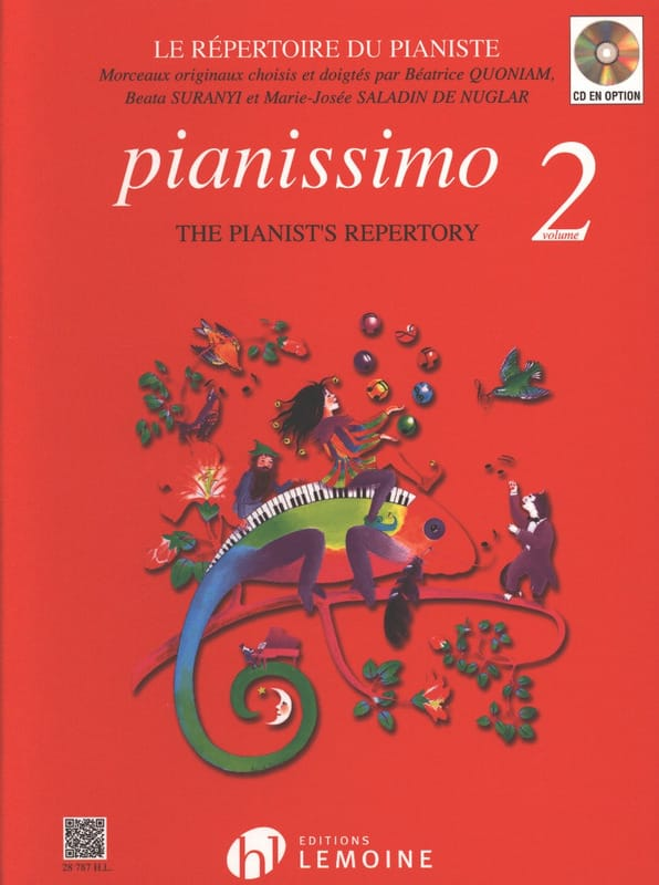 Pianissimo 2 - Béatrice Quoniam - Partition - Piano - laflutedepan.be