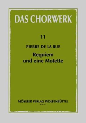 Requiem und eine Motette Rue Pierre de La Partition laflutedepan