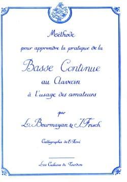 Basse Continue au Clavecin Bourmayan - Frisch Partition laflutedepan