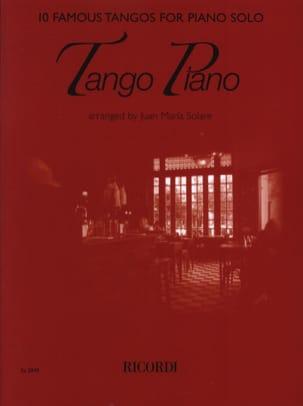 Tango Piano Partition Piano - laflutedepan