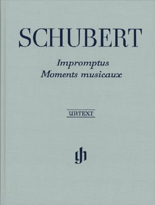 Impromptus / Moments Musicaux. Relié SCHUBERT Partition laflutedepan