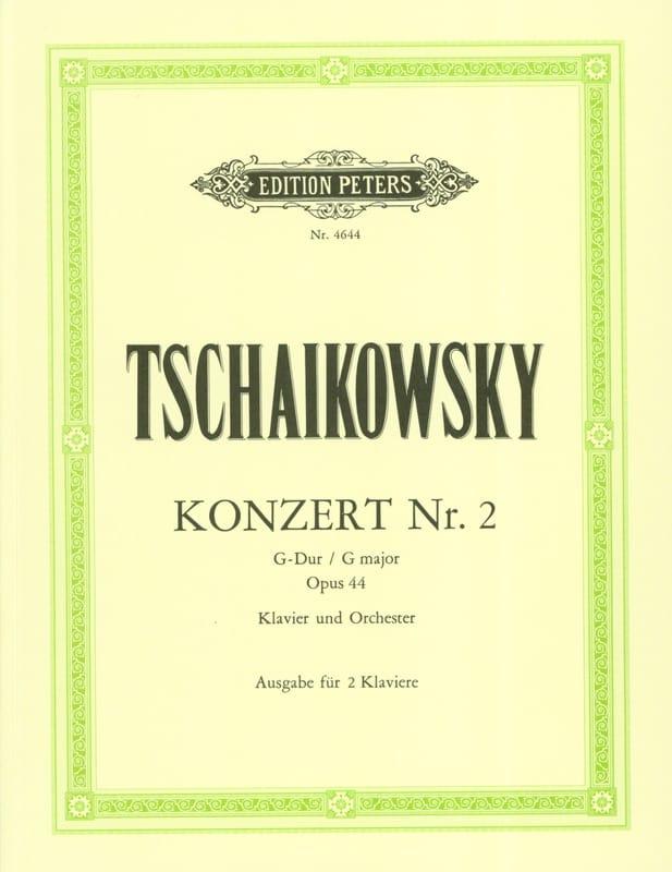 Concerto pour piano n° 2 En Sol Majeur Opus 44 - laflutedepan.com