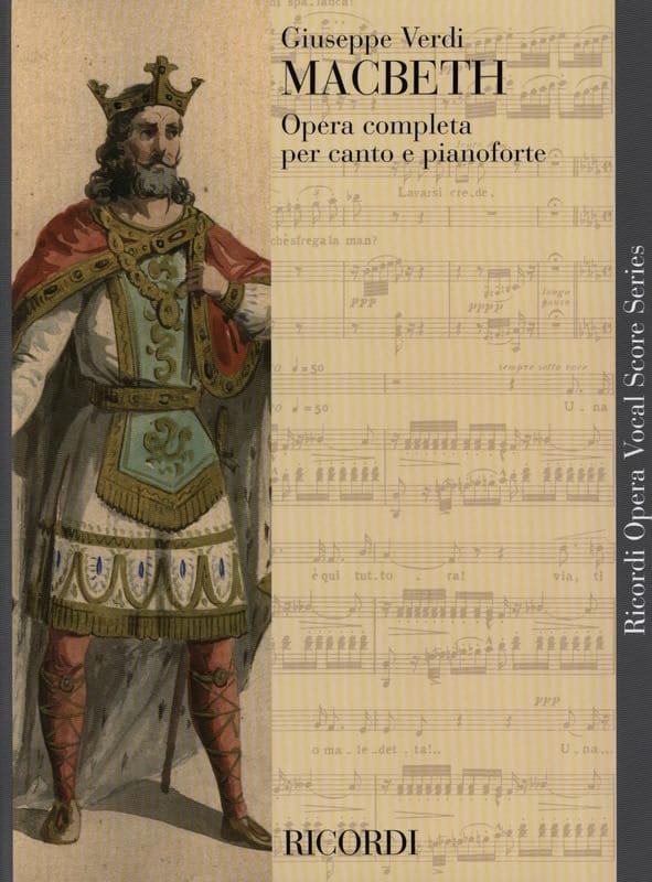 Macbeth - VERDI - Partition - Opéras - laflutedepan.com