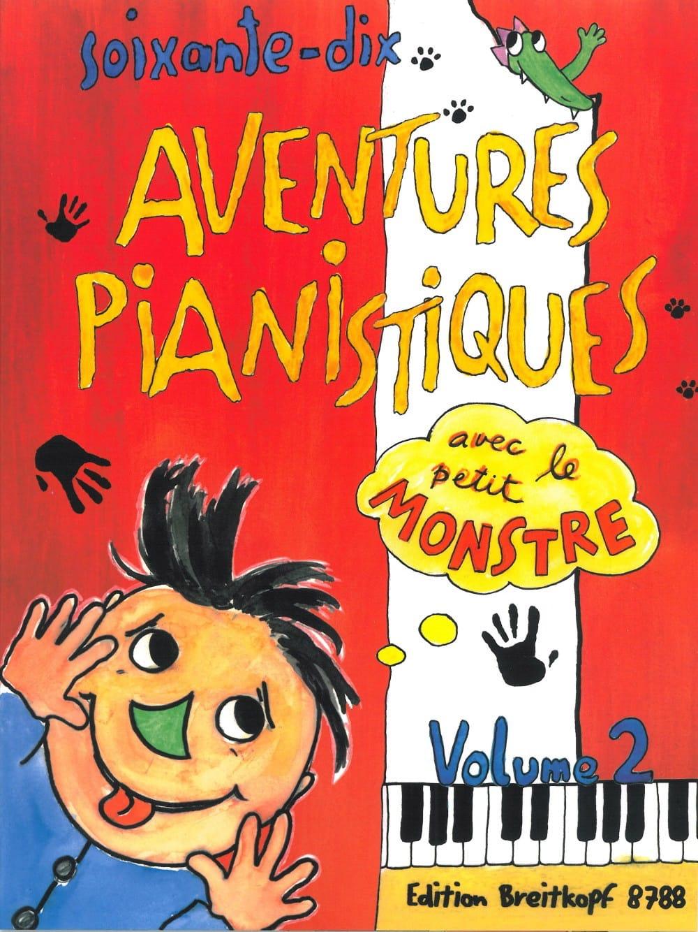 70 Aventures Pianistiques - Volume 2 - Partition - laflutedepan.be