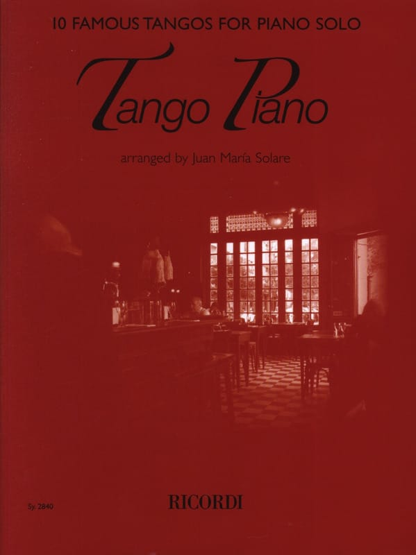 Tango Piano - Partition - Piano - laflutedepan.com