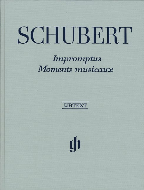 Impromptus / Moments Musicaux. Relié - SCHUBERT - laflutedepan.com