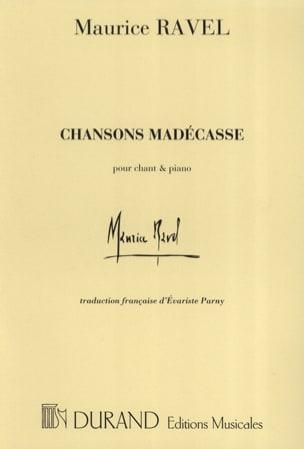 Chansons Madécasses RAVEL Partition Mélodies - laflutedepan