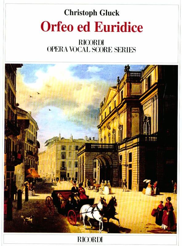 Orfeo et Euridice - GLUCK - Partition - Opéras - laflutedepan.com
