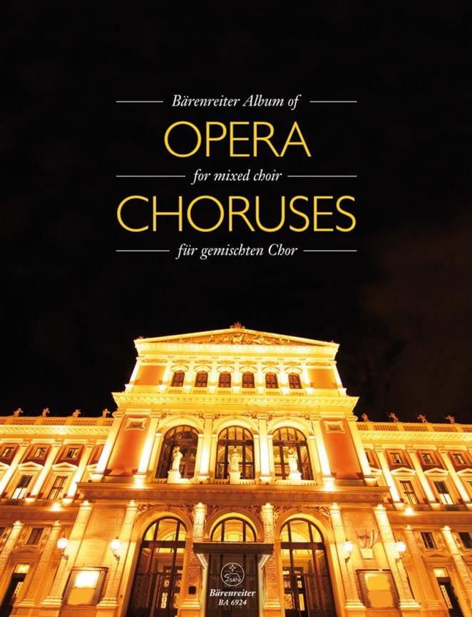 Bärenreiter Album of Opera Choruses - Partition - laflutedepan.com