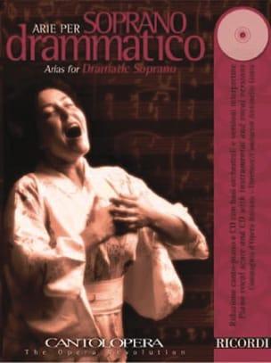 Arie Per Soprano Dramatico Partition Opéras - laflutedepan