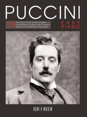 Puccini Easy piano PUCCINI Partition Piano - laflutedepan