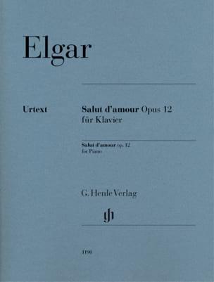 Salut d'Amour opus 12 Edward Elgar Partition Piano - laflutedepan