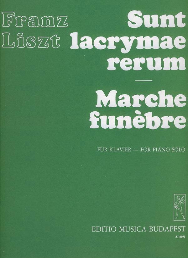 Sunt Lacrymae Rerum / Marche Funèbre - LISZT - laflutedepan.com