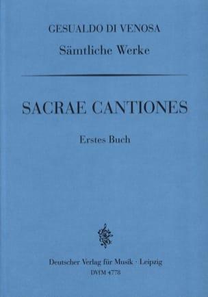 Sacrae Cantiones Volume 1 di Venosa, Carlo Gesualdo laflutedepan