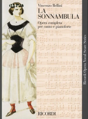 La Sonnambula BELLINI Partition Opéras - laflutedepan