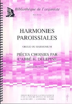 Harmonies Paroissiales Volume 2 Partition Orgue - laflutedepan