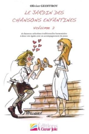 Le jardin des chansons enfantines Volume 2 - laflutedepan.com