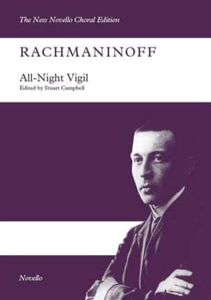 All night Vigil opus 37 RACHMANINOV Partition Chœur - laflutedepan