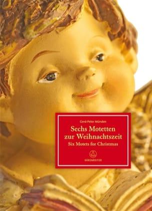 Six Motets pour le Temps de Noël - Partition - laflutedepan.com