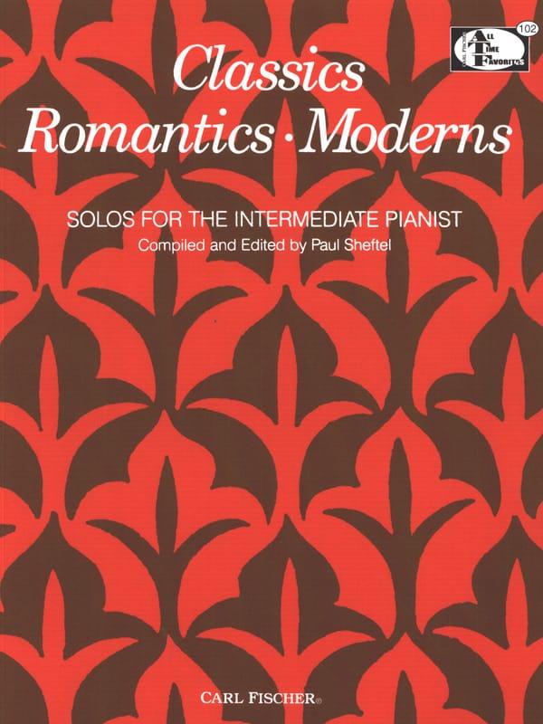 Classics Romantics Moderns - Partition - Piano - laflutedepan.com