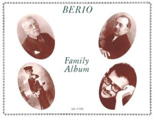 Berio Family Album BERIO Partition Piano - laflutedepan