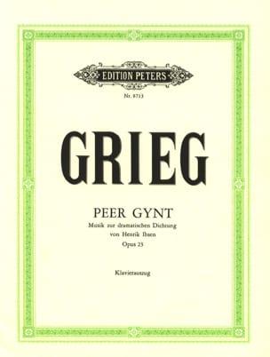 Peer Gynt Opus 23 GRIEG Partition Opéras - laflutedepan
